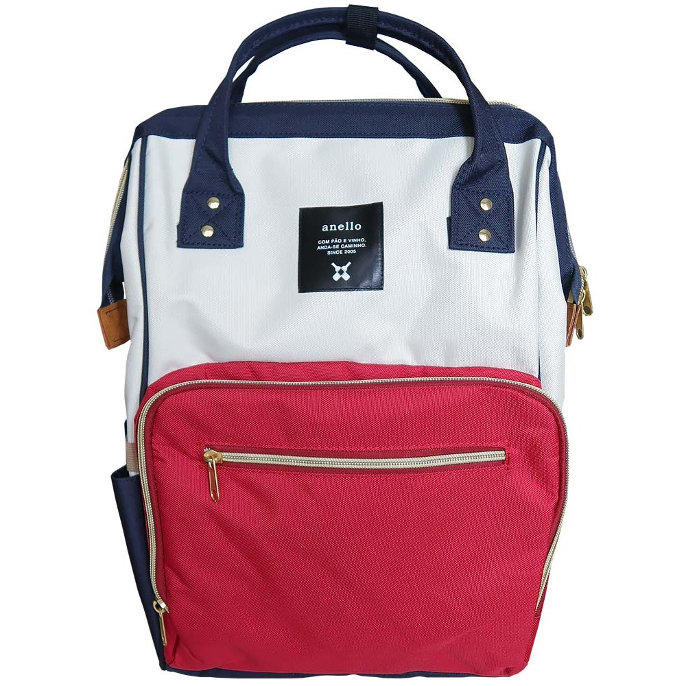 Японский рюкзак-сумка Anello universal бело-красно-синий (white-red-blue) AT-B0193A-U F