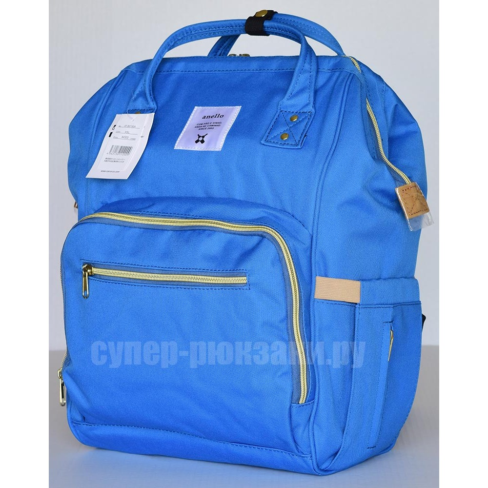 Японский рюкзак-сумка Anello universal голубой (blue) AT-B0193A-U B