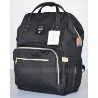 Японский рюкзак-сумка Anello universal черный (black) AT-B0193A-U BK