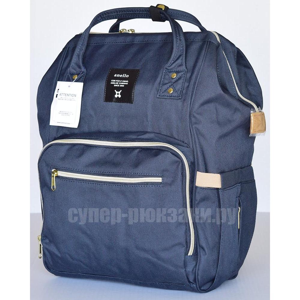 Японский рюкзак-сумка Anello universal темно-синий (navy) AT-B0193A-U N