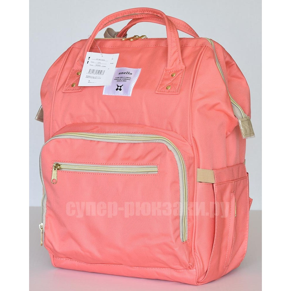 Японский рюкзак-сумка Anello universal розовый (pink) AT-B0193A-U CPI