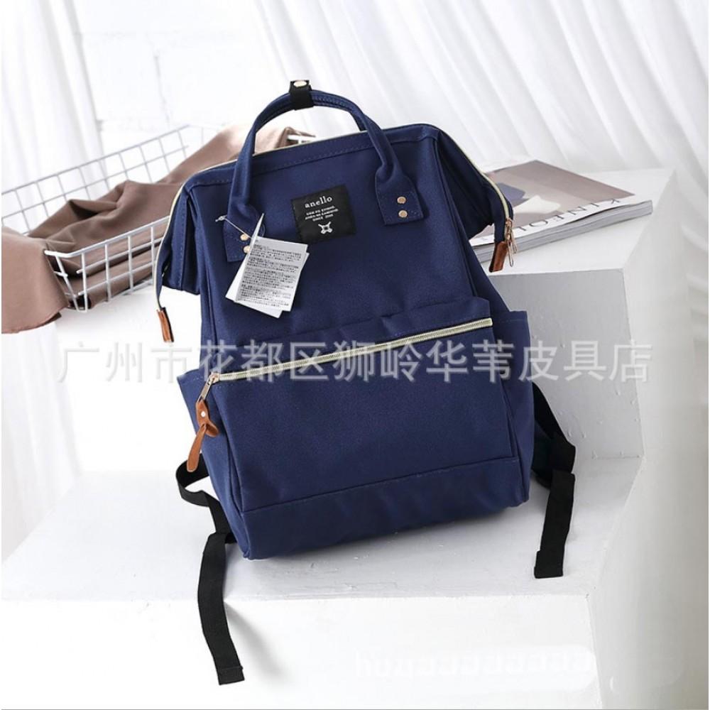 Японский рюкзак-сумка Anello city темно-синий (navy) AT-B0193A N