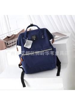 Японский рюкзак-сумка Anello Big темно-синий (navy)