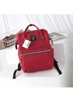 Японский рюкзак-сумка Anello Big винно-красный (wine)