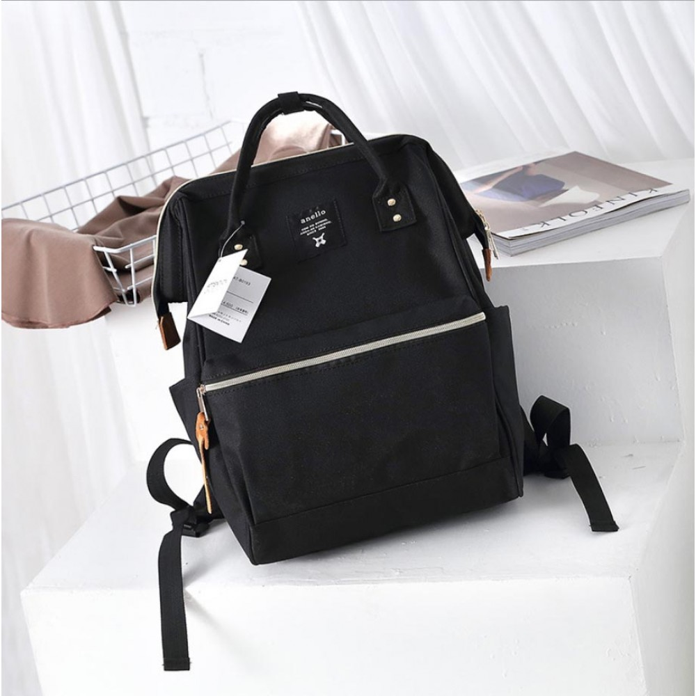 Японский рюкзак-сумка Anello city черный (black)