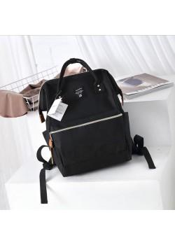 Японский рюкзак-сумка Anello Big черный (black)