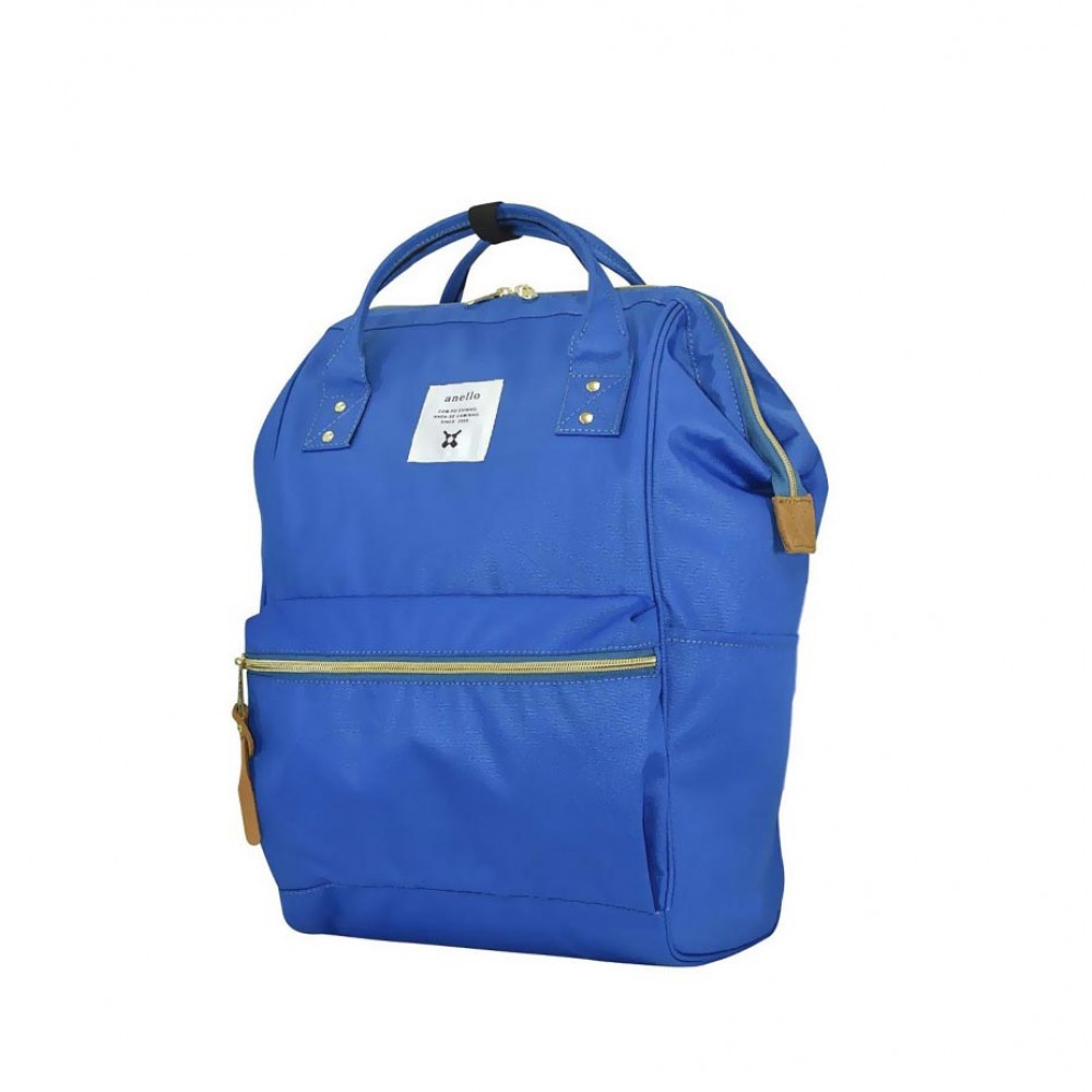 Японский рюкзак-сумка Anello Big голубой (blue).