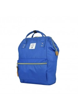 Японский рюкзак-сумка Anello city голубой (blue) AT-B0193A B