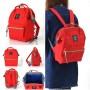 Японский рюкзак-сумка Anello Big красный (red)