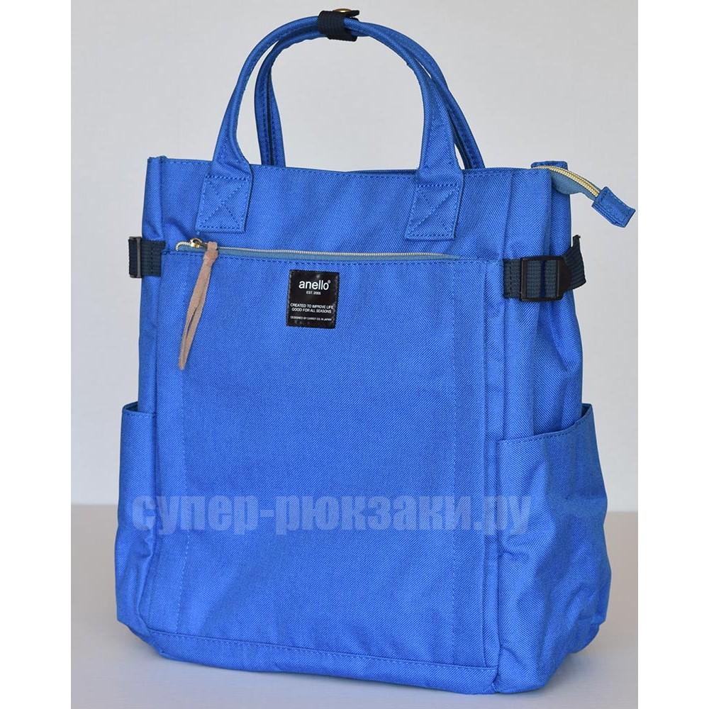 Японский рюкзак-сумка Anello AT-C1225 10 синий (blue)