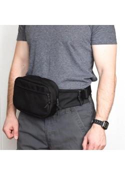 Поясная сумка SUPER RUKZAKI  B2 (2л) черная