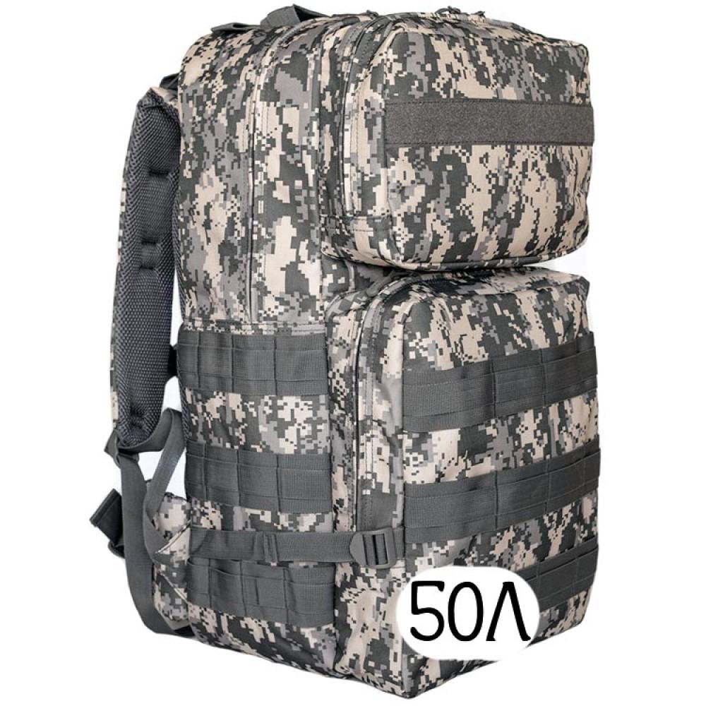 Тактический рюкзак Mr. Martin 5008 АКУПАТ (серый пиксель)