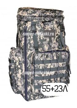 Тактический рюкзак Mr. Martin 5022 АКУПАТ (серый пиксель)