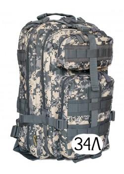 Тактический рюкзак Mr. Martin 5025 АКУПАТ (серый пиксель)