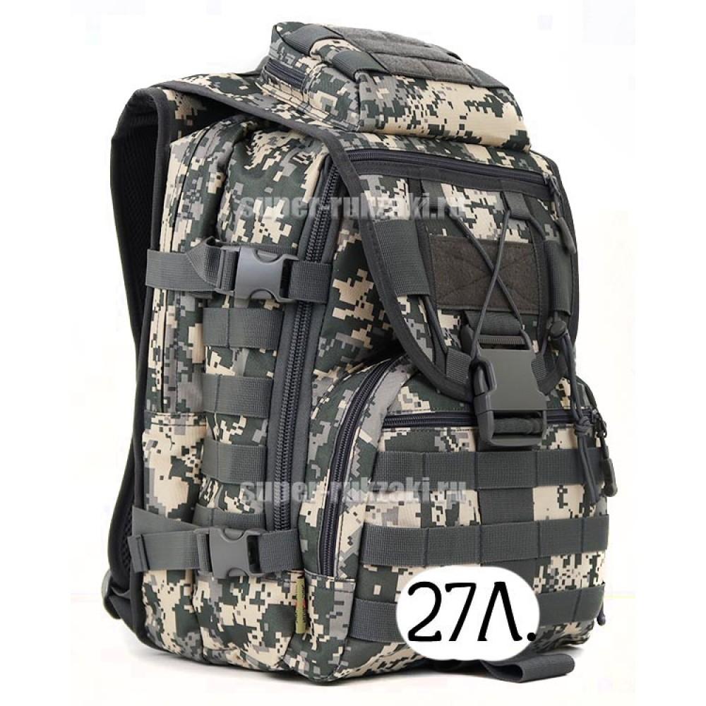 тактический рюкзак Mr. Martin 5035 АКУПАТ (серый пиксель)