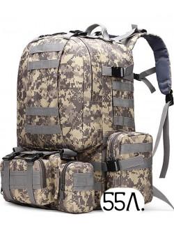 Тактический рюкзак Cool Walker 001 АКУПАТ (серый пиксель)