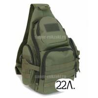 Однолямочный тактический рюкзак Mr. Martin 5053 хаки (олива)