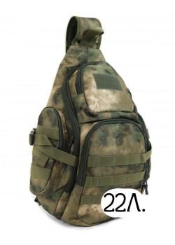 Однолямочный тактический рюкзак Mr. Martin 5053 A-TACS FG (МОХ)