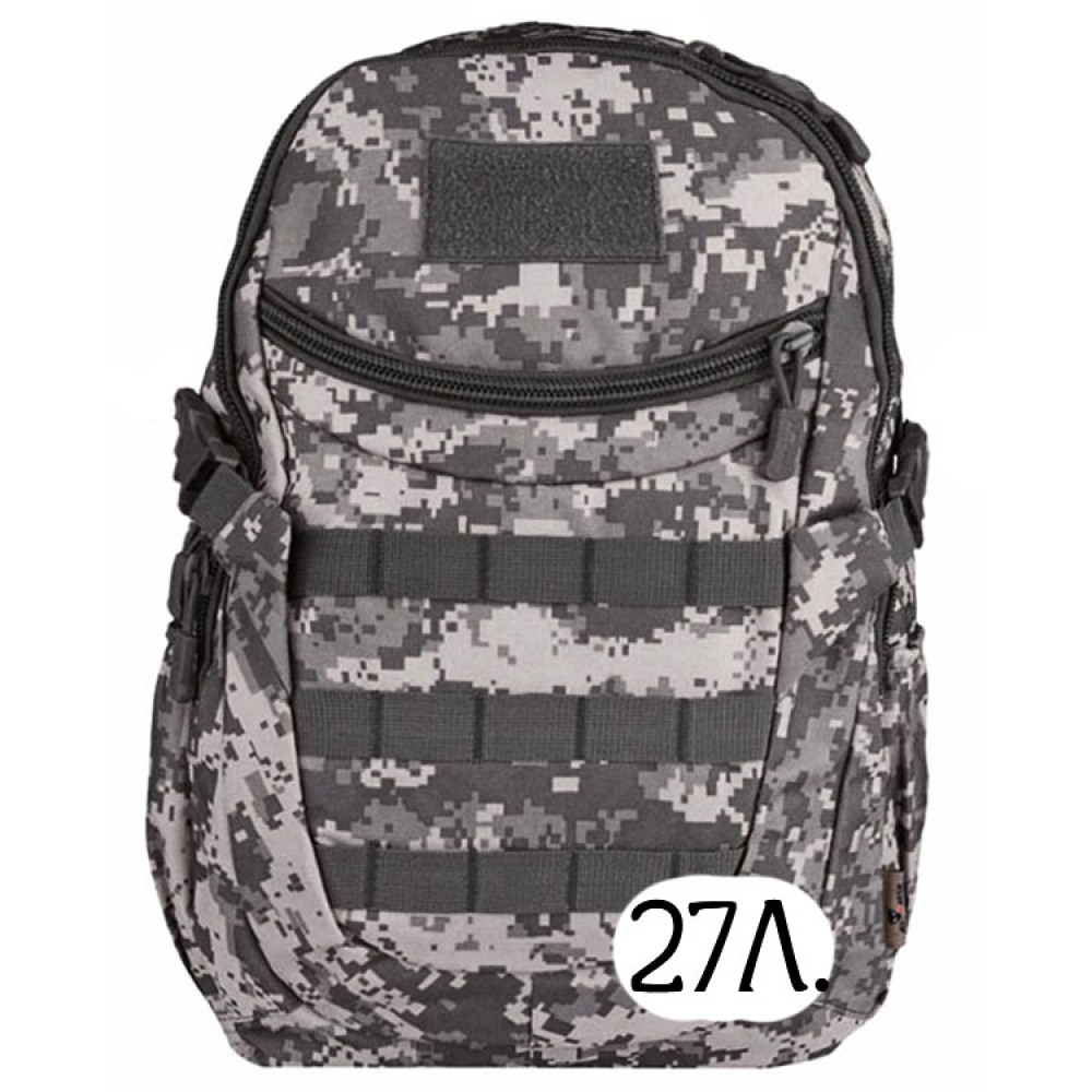 Тактический рюкзак Mr. Martin 5066 АКУПАТ (серый пиксель)