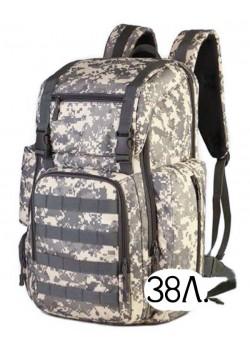 Тактический рюкзак Mr. Martin 5071 серый пиксель (ACU)