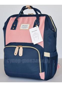 Сумка-рюкзак Picano 1816  сине-розовый (blue-pink)