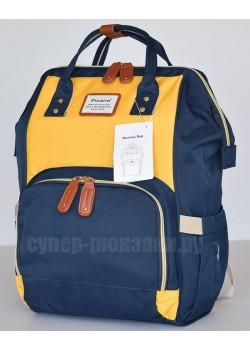 Сумка-рюкзак Picano 1816  сине-желтый (blue yellow)