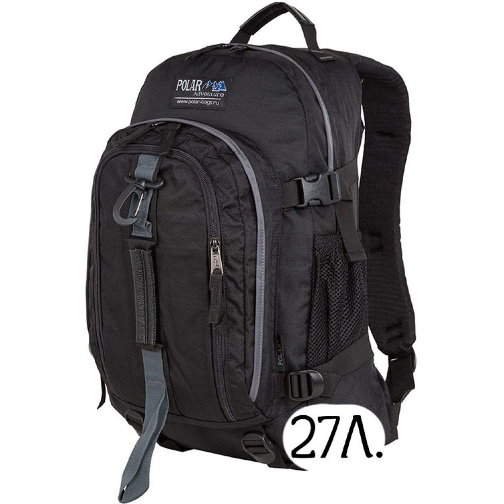 Городской рюкзак Polar П955 черный