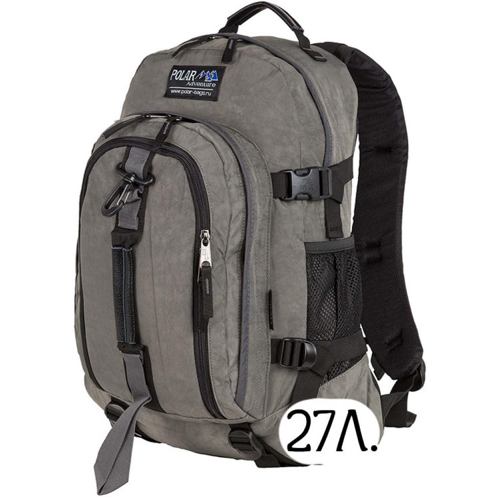 Городской рюкзак Polar П955 серый