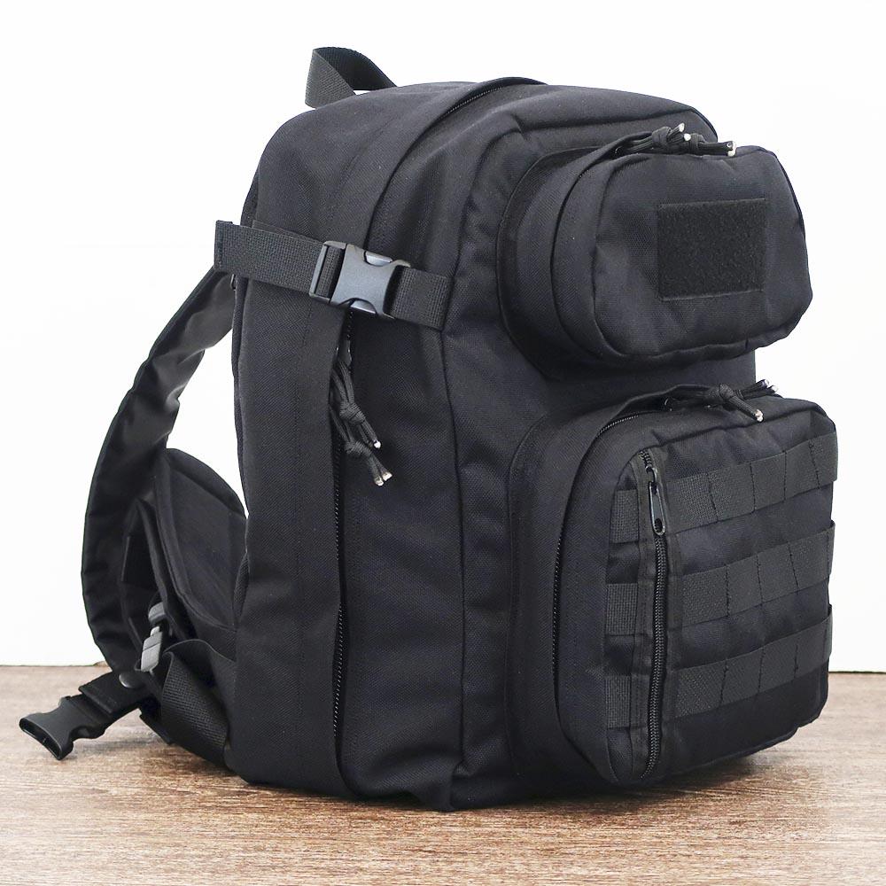 """Однолямочный тактический рюкзак SUPER RUKZAKI """"SR 1.5"""" черный"""