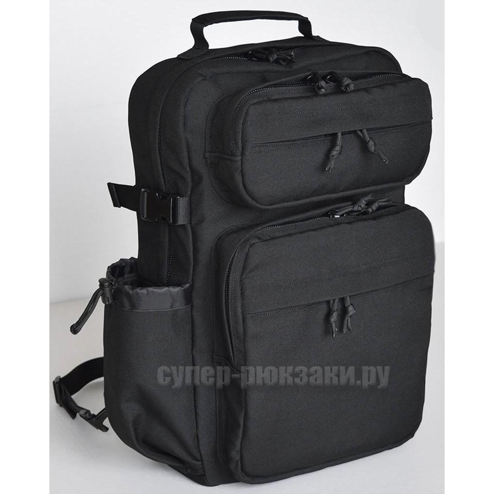 """Однолямочный рюкзак для ноутбука 15,6"""" черный"""