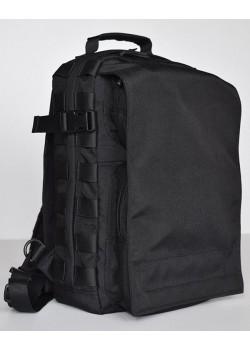 """Однолямочный рюкзак для ноутбука 13"""" БЛЭК ДЖЕК черный"""